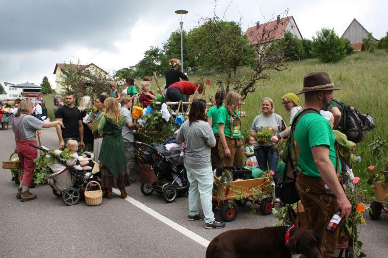 Festumzug 05 06 2016 Waldkindergarten Althutte E V